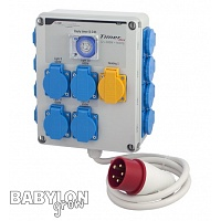 GSE Timer Box 12x600W + heating