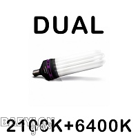 Advanced Star PRO STAR DUAL 2100K+6400K CFL Bulb