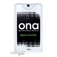 ONA Spray Card Odor Neutralizer Apple Crumble
