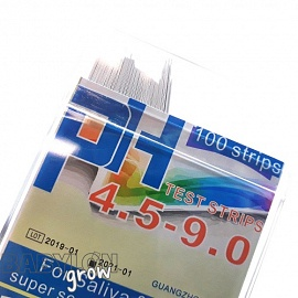 Aquatek Litmus Paper 4.5-9.0 pH 100 strips