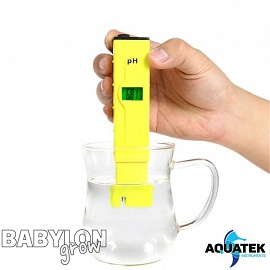 Aquatek Digital pH Meter 0.1 Resolution Handheld (0.0-14.0)