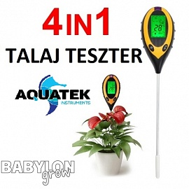 4-in-1 Soil Tester for light, moisture, pH and temperature
