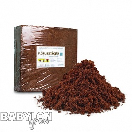 Washed coco bricks 4,5 kg