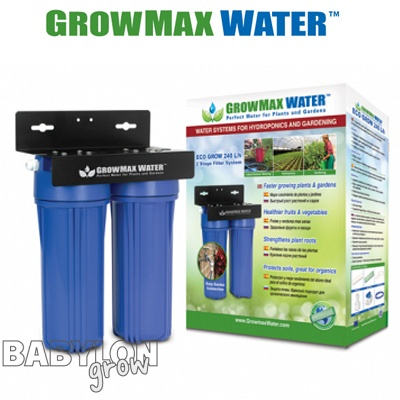 GrowMax Water filtration