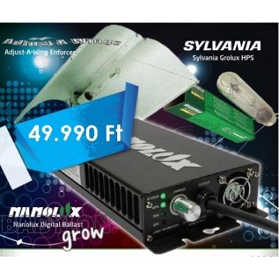 Grow Light Set 400w With Digital Ballast Setovi Lampe I