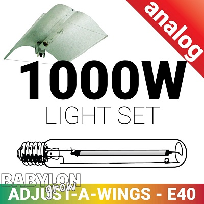 Grow Light set 1000W